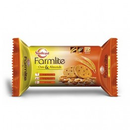 Sunfeast Farmlite - Oats & Almonds Healthy & Digestive Biscuits.